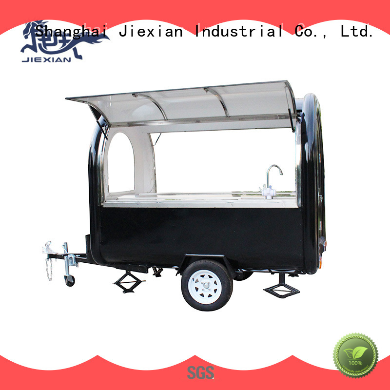 Jiexian oem concession trailers for sale in ohio factory price for business