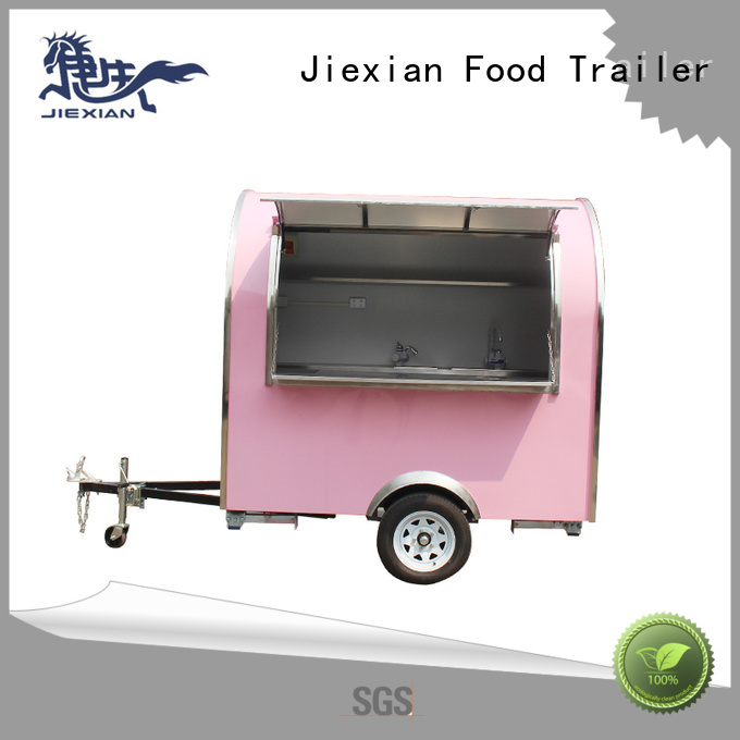 Jiexian concession trailers for sale in ohio factory price for business