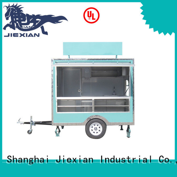 Jiexian competition bbq trailer China manufacturer for bbq selling