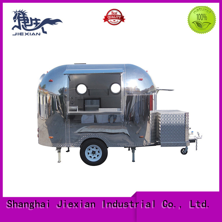 Jiexian custom pizza truck catering factory for business
