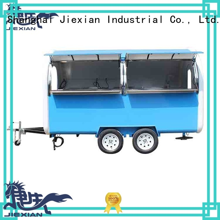 Jiexian odm concession trailer inquire now for business