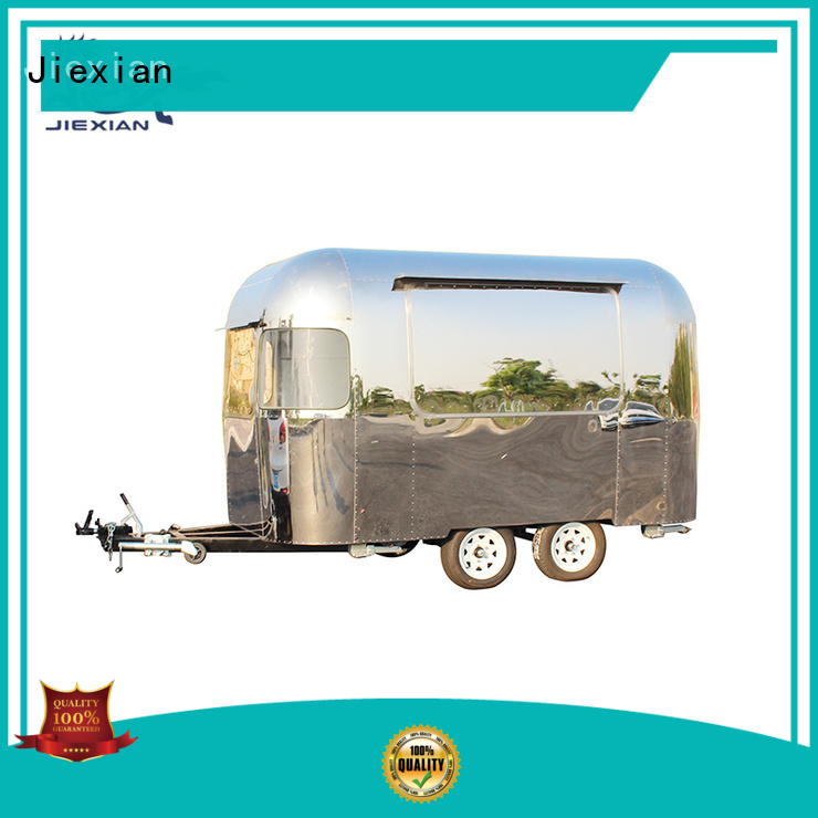 Jiexian custom pizza truck catering inquire now for business