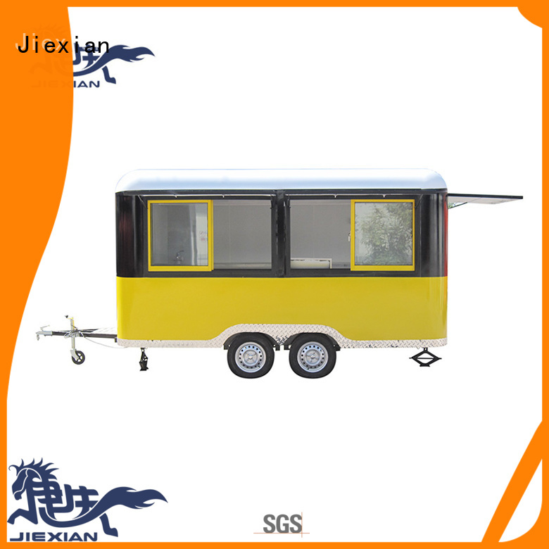 Jiexian bbq mobile bbq concession trailer customization for mobile business