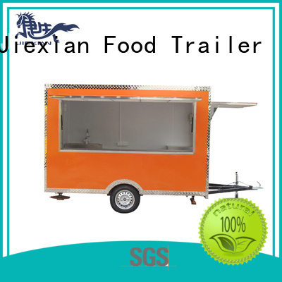 Jiexian mobile food trailer for bbq selling