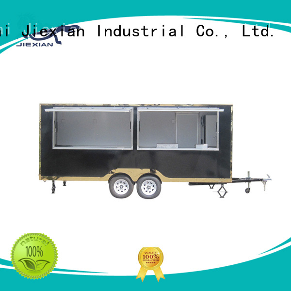 food trailer with grill
