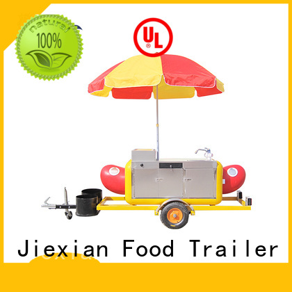 small size nostalgia hot dog cart personalized for selling snack