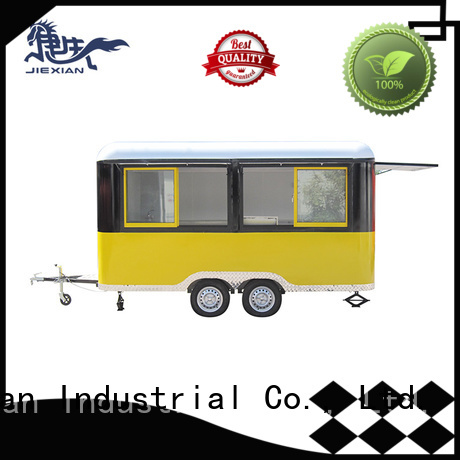 customize barbecue trailer customization for fast food selling