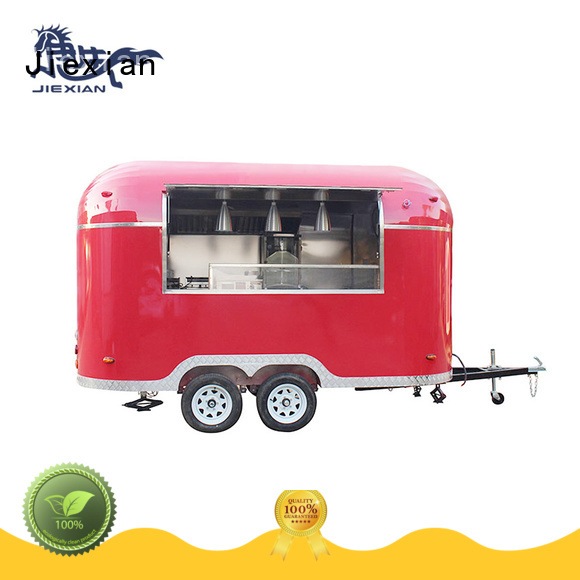 Jiexian burger cart from China for selling Burger