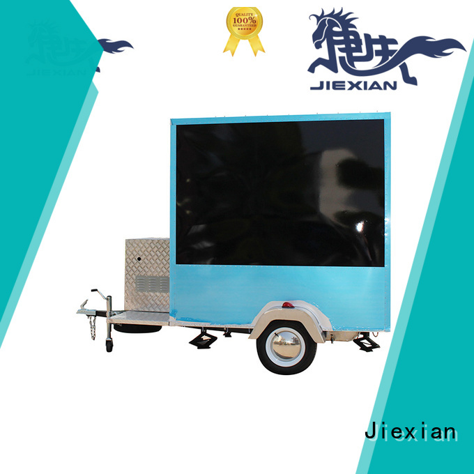 Jiexian Good materials mobile kitchen trailer China manufacturer for mobile business