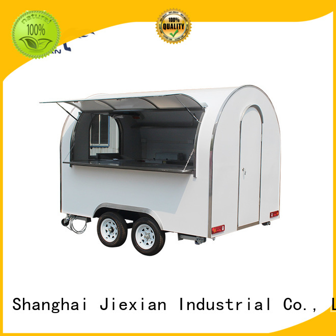 Jiexian mobile concession trailer nice design for business