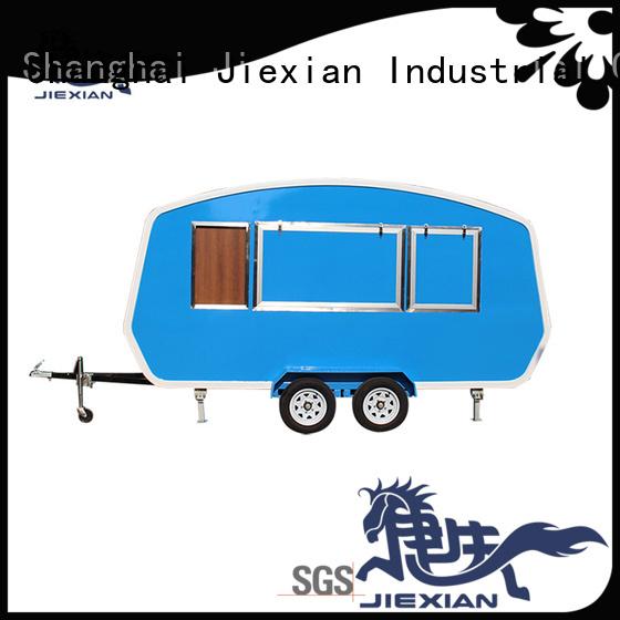Jiexian new type burger truck manufacturer for selling hamburger
