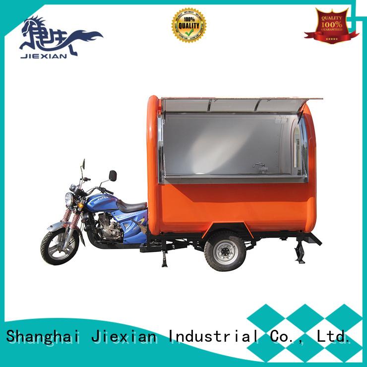 Jiexian motorbike cart factory for mobile business