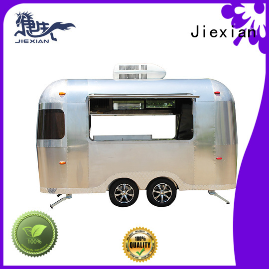 Jiexian pizza truck catering design for business