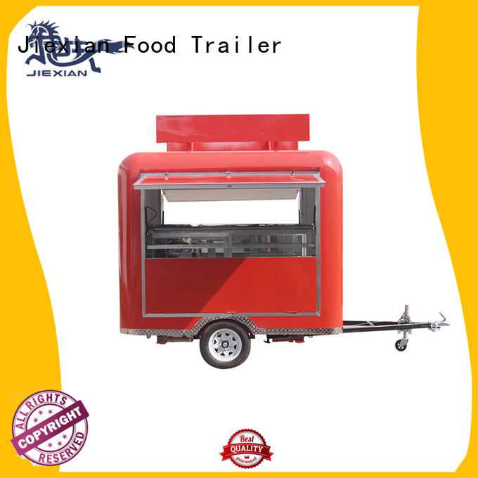 Jiexian mobile bbq concession trailer with competitive price for BBQ trademan
