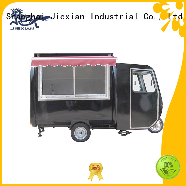 Jiexian electric mobile food cart inquire now for trademan