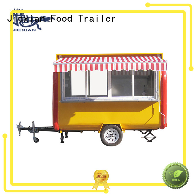 Jiexian quality concession trailers for sale in ohio personalized for food selling