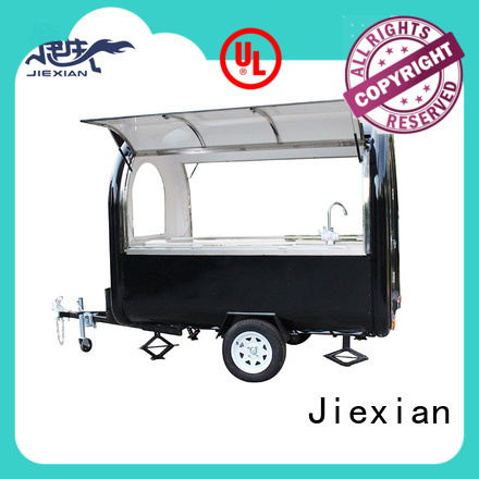 Jiexian oem new concession trailers factory price for food selling