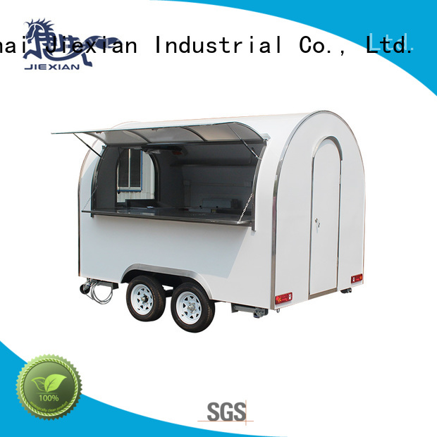 Jiexian competitive small concession trailer cheap price for business