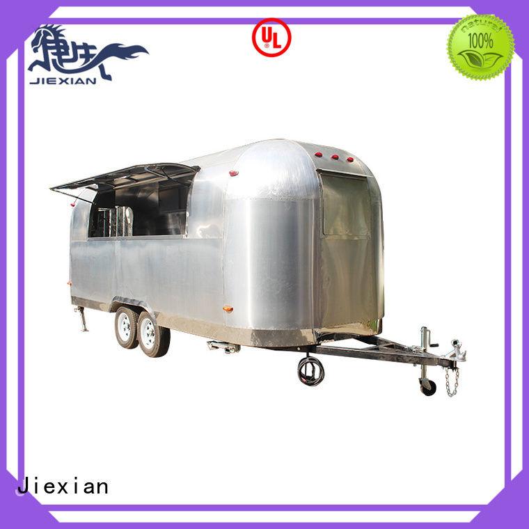 Jiexian pizza trailer with good price for business
