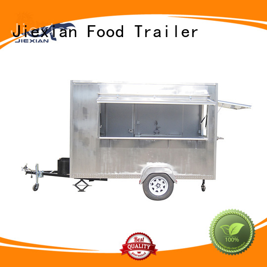 Jiexian Airstream type foodtruck pizza design for selling pizza