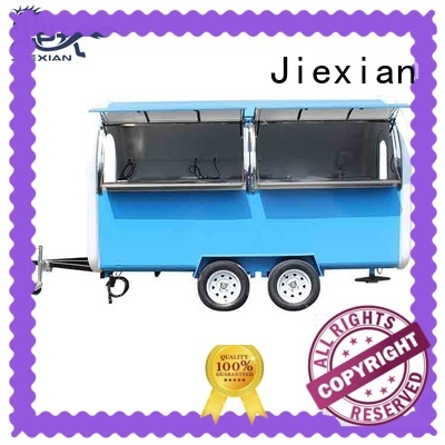 Jiexian new design mobile concession trailer nice design for mobile food selling