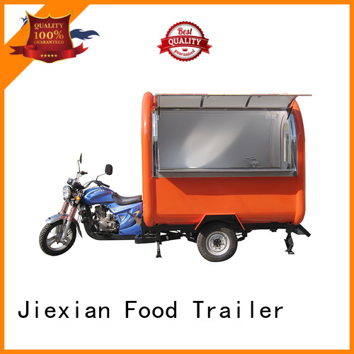 Jiexian hot-sale motorbike cart with good price for mobile business