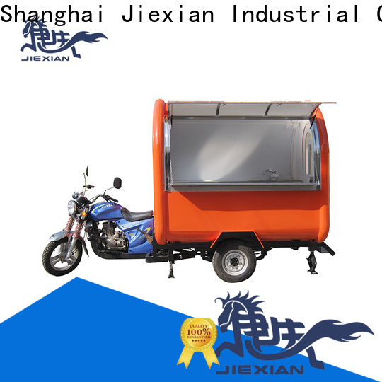 Jiexian fine workmanship motor food cart inquire now for mobile business