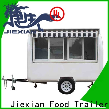 Jiexian 200cm concession trailers for sale in nc with good price for business