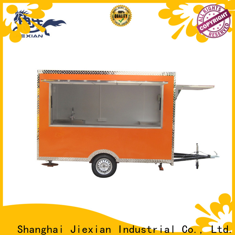 Good materials mobile bbq trailer customization for barbecue selling