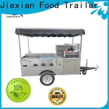 small size hot dog trailer factory price for selling snack