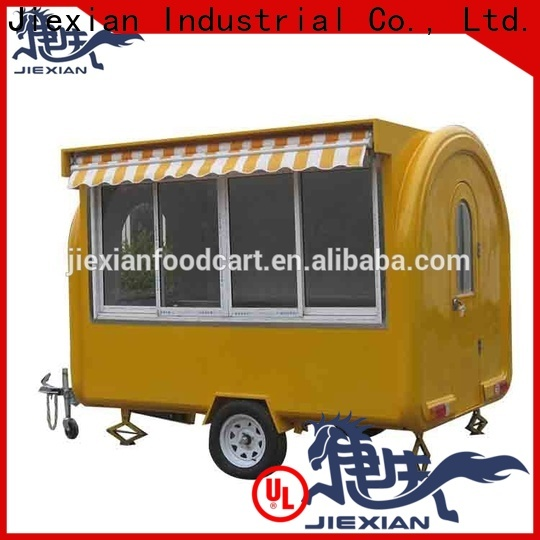 Jiexian small mobile food carts for business for outdoor food selling
