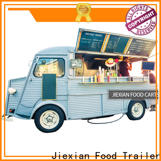 Jiexian food truck listings company for outdoor food selling