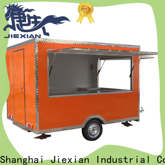 Jiexian High-quality breakfast food cart factory for outdoor food selling
