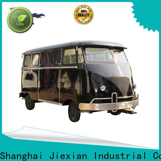 Jiexian new type burger van series for selling snake