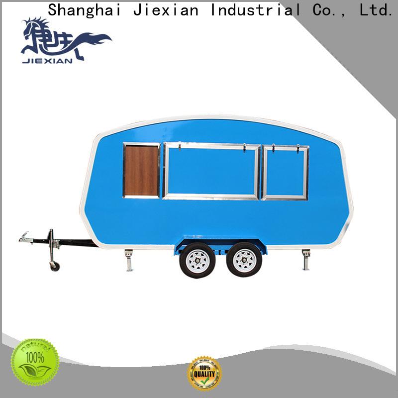 mobile hamburger cart manufacturer for selling hamburger