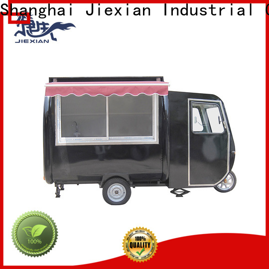 Jiexian price-favorable electric tricycle food cart inquire now for snake selling