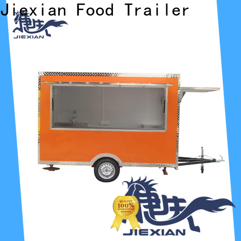 Jiexian bbq concession trailer customization for mobile business