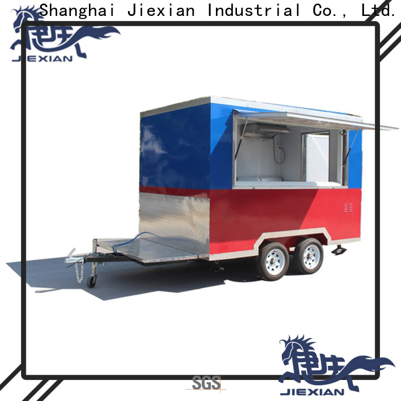 Jiexian Top food truck service near me company for food business