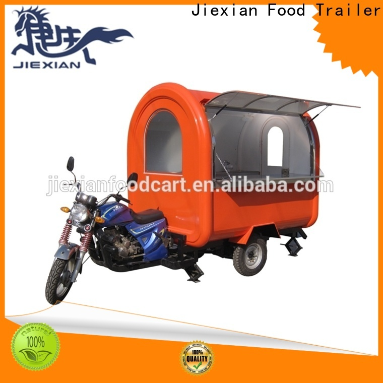 Jiexian Top concession trailer exhaust hood system factory for outdoor food selling