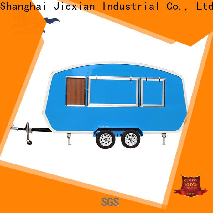 Jiexian hamburger cart manufacturer for selling hamburger