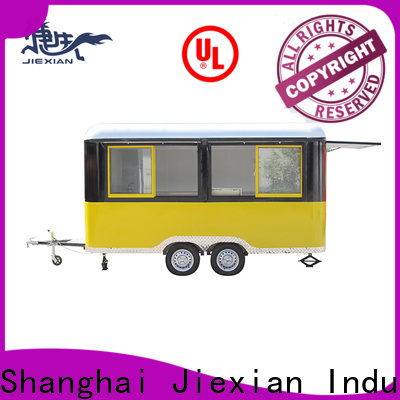 Jiexian barbecue barbecue trailer with competitive price for mobile business