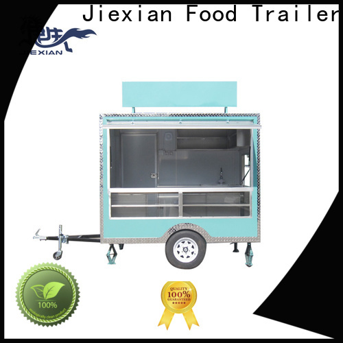 Good materials bbq food trailer China manufacturer for barbecue selling