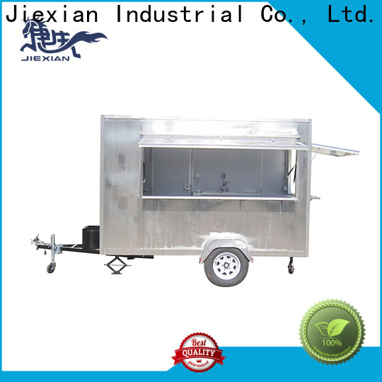 Airstream type pizza truck factory for selling pizza
