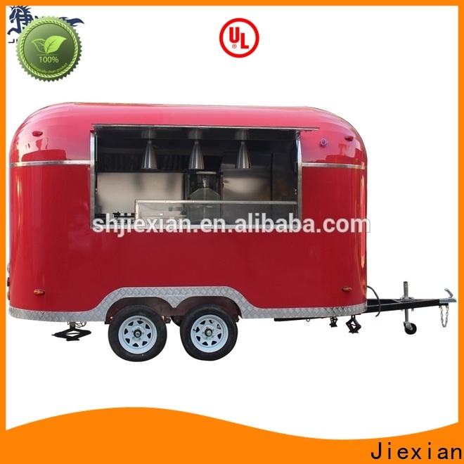 Latest cheap food trailers for sale company for fast food selling