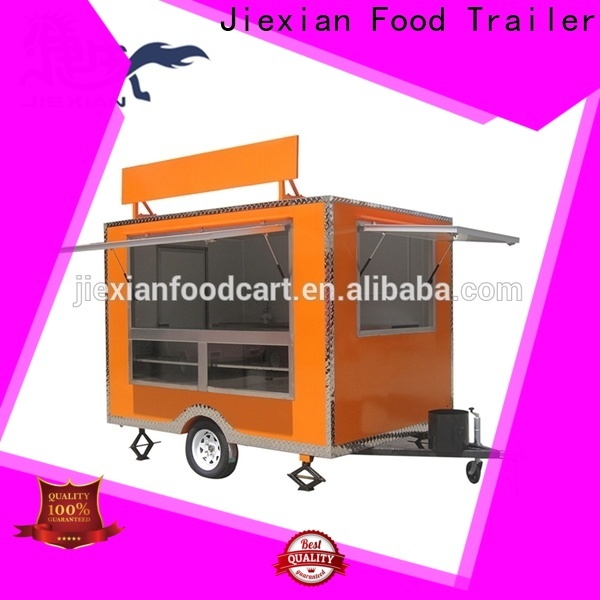 Jiexian food truck service for business for fast food selling