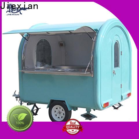 Jiexian mobile catering trucks bulk buy for fast food selling