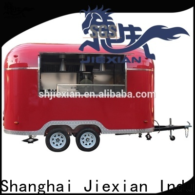 Jiexian Custom food trailers for sale in oklahoma company for food business