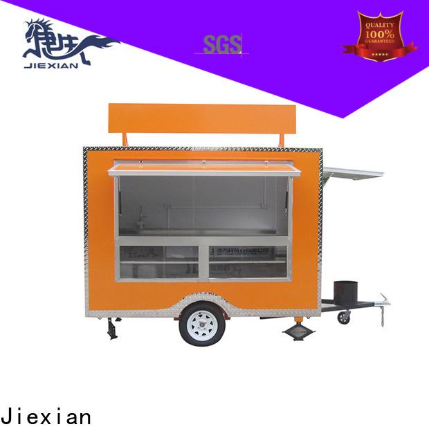 commercial pellet smoker trailer