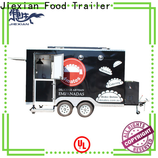 Top rotisserie smoker trailer for business for mobile business