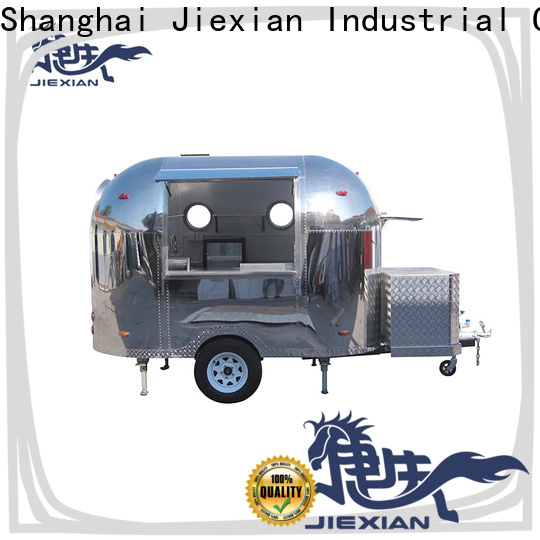 Jiexian wood fired pizza oven trailer for sale for business for selling pizza